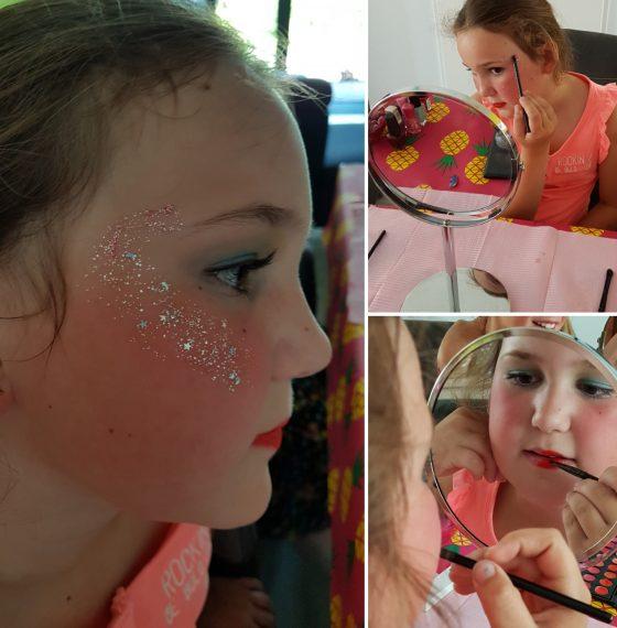 Beauty party  Kinderfeestje