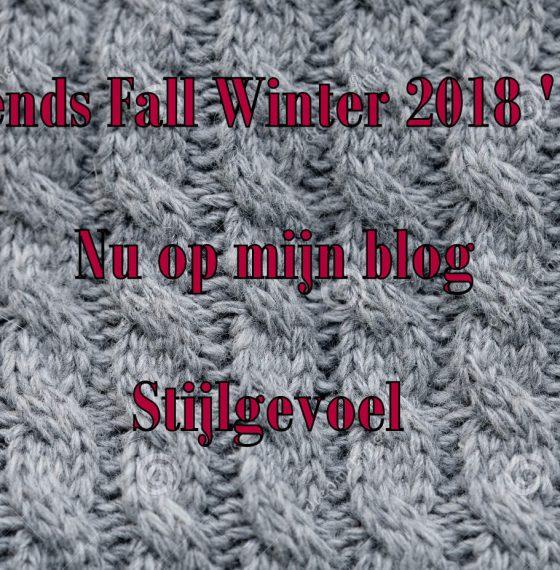 Mode trends Fall winter  2018 '19